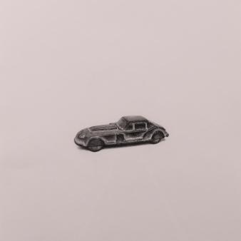 """Car"" Wax pencil on card, 40cm x 40cm, Sold"
