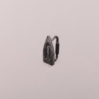 """Iron"" Wax pencil on card, 40cm x 40cm, Sold"